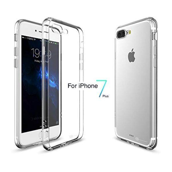 Cell Phones Cases Case Army iPhone 7 Plus iPhone 8 Plus Clear Case Scratch-Resistant Slim Clear Case for Apple iPhone 7 Plus 8 Plus PRODUCT RED Plus Soft Flexible Silicone Clear Cover TPU Bumper - intl