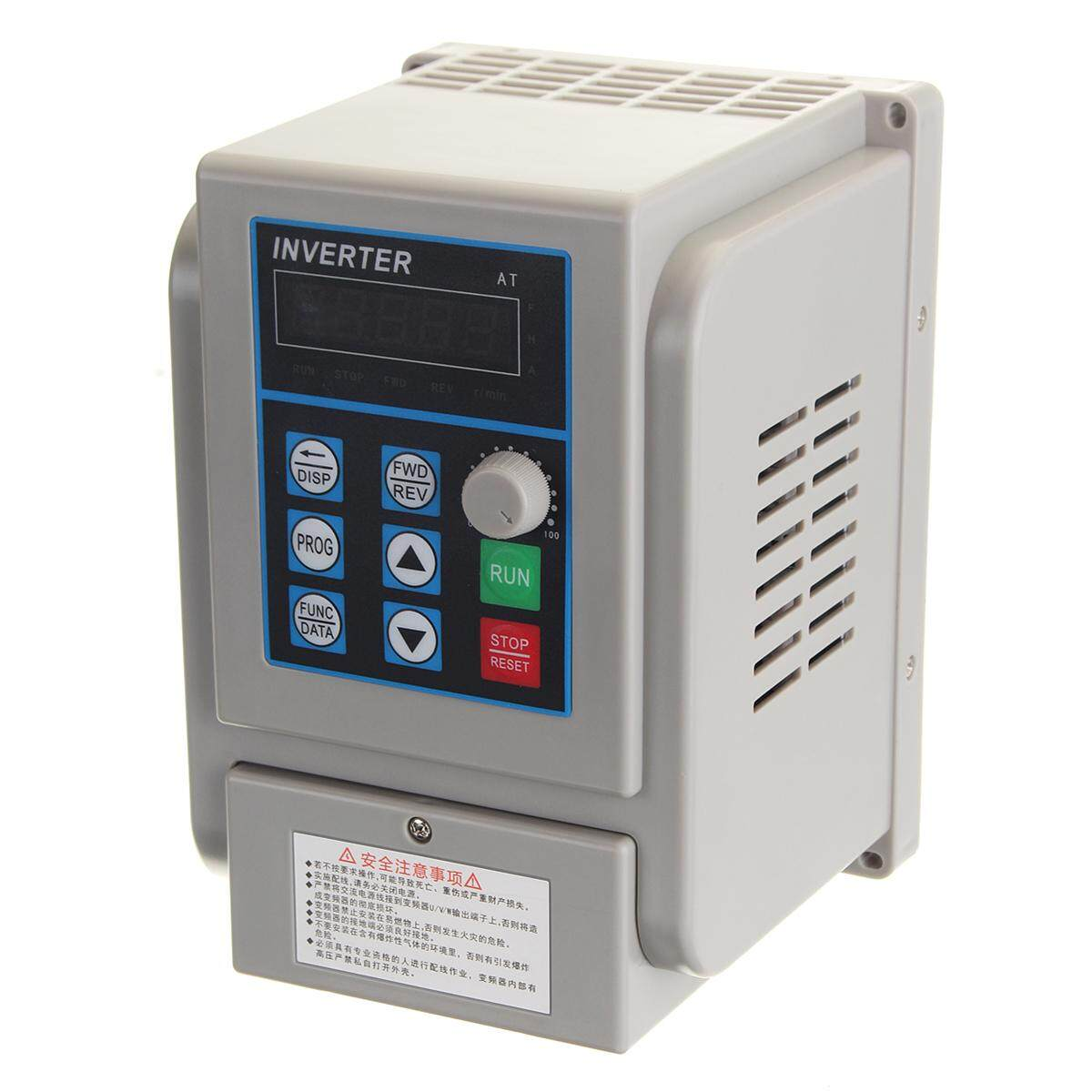 Fitur 220v 1 5kw 2hp Single To Three Phase Variable Frequency Drive Circuit 15kw Inverter Cnc Vfd 4