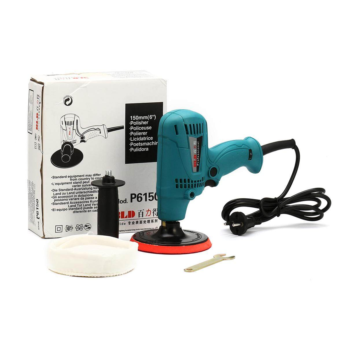 Car polishing waxing machine Adjustable-speed furniture porcelain polisher  220V - intl