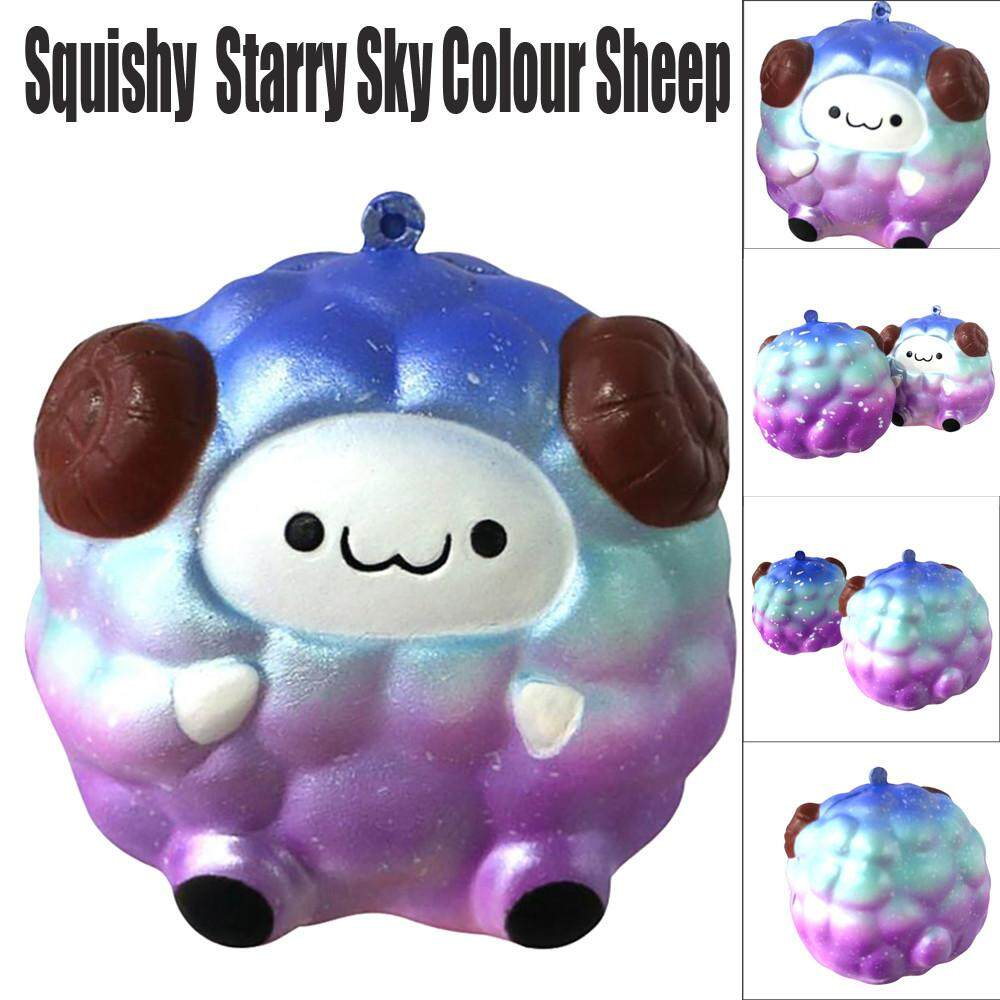 Hình ảnh Funny Products Squishy Soft Sheep Cartoon Slow Rising Squishies Squeeze Toy - intl