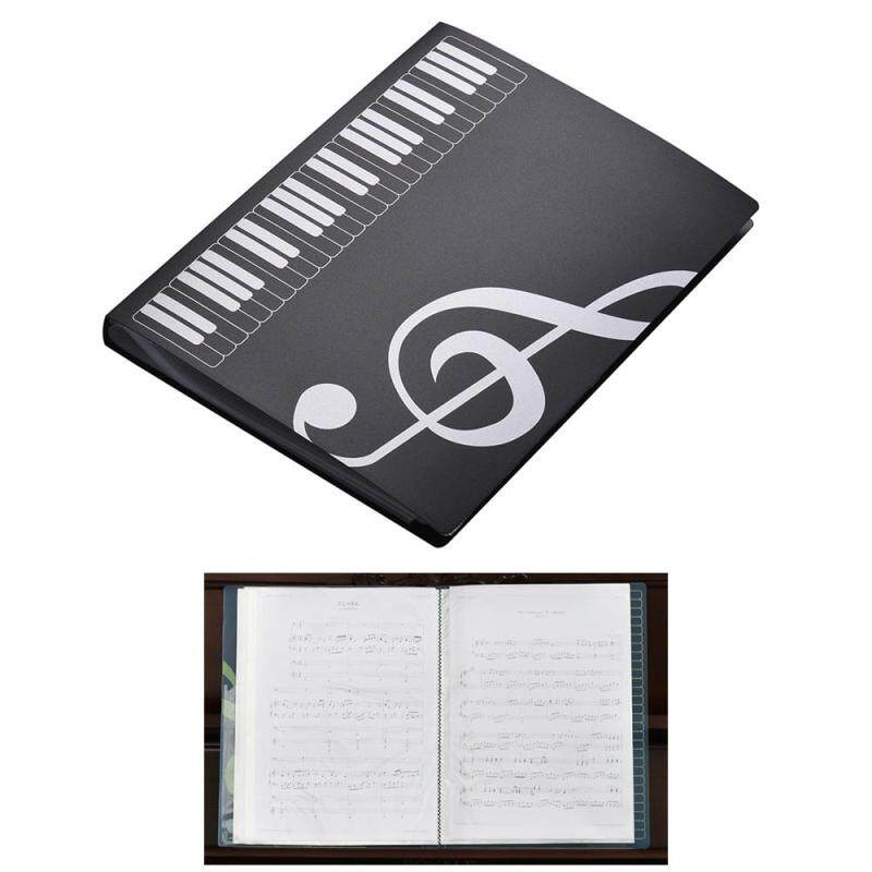 A4 Size Music Score Paper Sheet Note Document File Organizer Folder Holder Case 40 Pockets Malaysia
