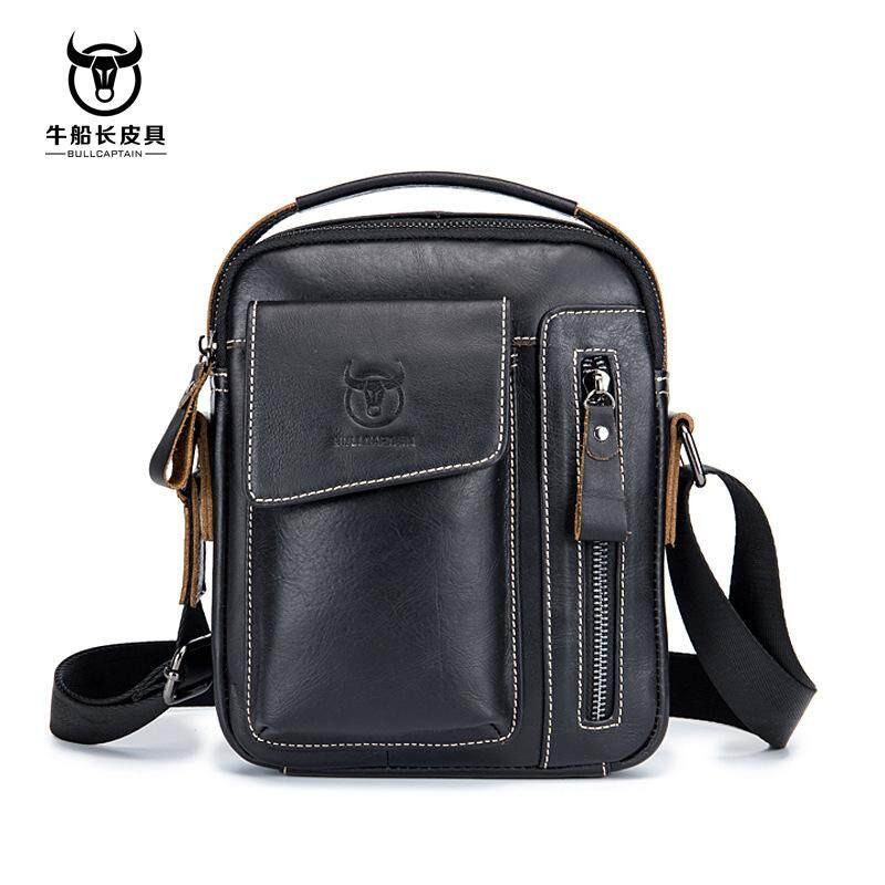 d77c39e950 Genuine Leather Men Messenger Bag Casual Crossbody Bag Business Male  Handbag Bags Gift Shoulder Bag