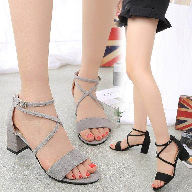 09126b0feb6ff Ladies Shoes 2018 Summer Gladiator Sandals Women High Heels Sandals Party  Wedding Shoes Glitter Ladies Sandals