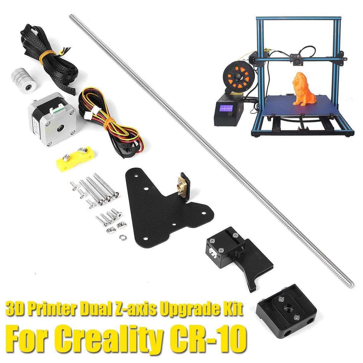 Dual Sumbu Z Imprimante 3D Printer Bagian Upgrade Perlengkapan Hasil Karya Sendiri untuk Creality CR-10 Leas