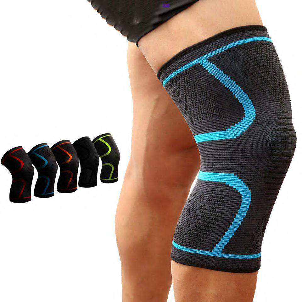 2pcs/pair Fitness Running Cycling Knee Support Braces Elastic Nylon Sport Compression Knee Pad Sleeve For Basketball Volleyball Suitable For Leg - Intl By Evertoner.