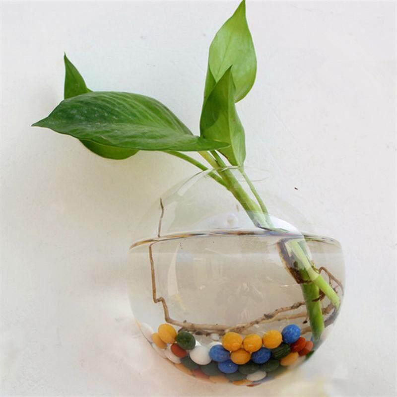 ... 2018 New Hanging Flower Pot Glass Ball Vase Terrarium Wall Fish Tank Aquarium Container Homw Decor