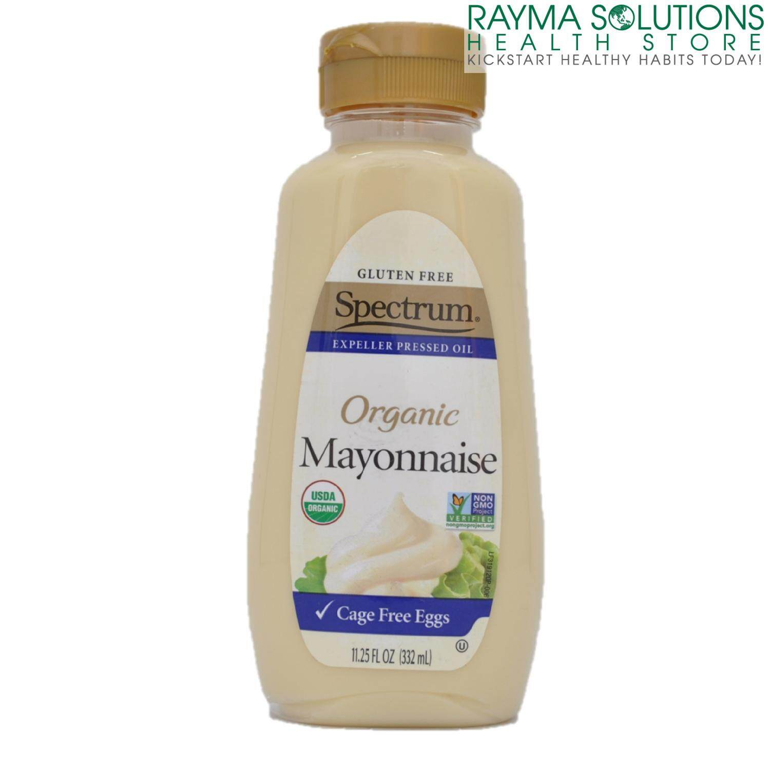 SPECTRUM Organic Cage Free Eggs Mayonaise 332ml