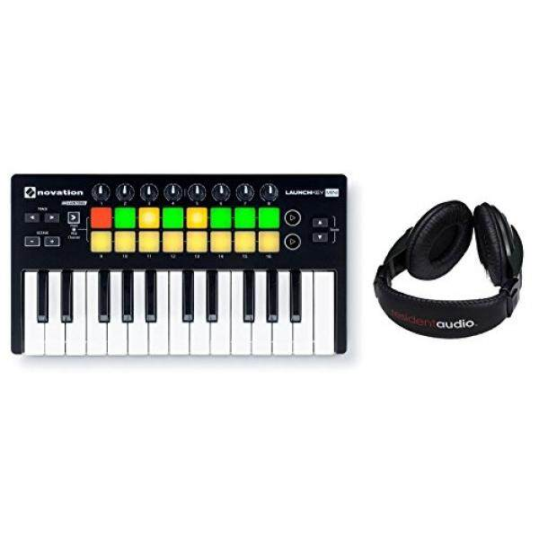 Novation Launchkey Mini MK2 W/Resident Audio R100 Bundel Headphone/dari Amerika Serikat