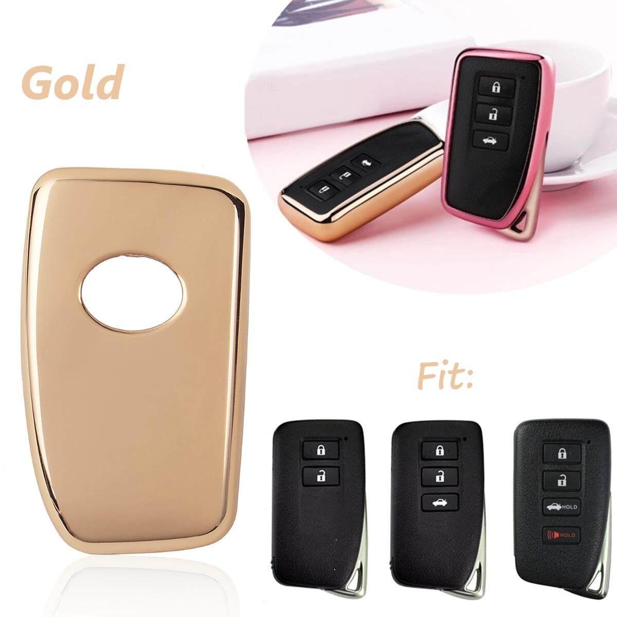 TPU Remote Kotak Kunci Alarm Shell Penutup untuk Lexus Adalah Ialah GS LS RC NX RX 200 300 350-Intl