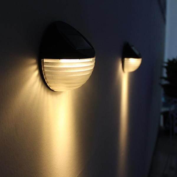 Ngôi Nhà Lớn 6LED Đèn Ngoài Trời Năng Lượng Mặt Trời-Powered Đèn Hàng Rào Cảnh Quan Sân Vườn Đèn Trang Trí