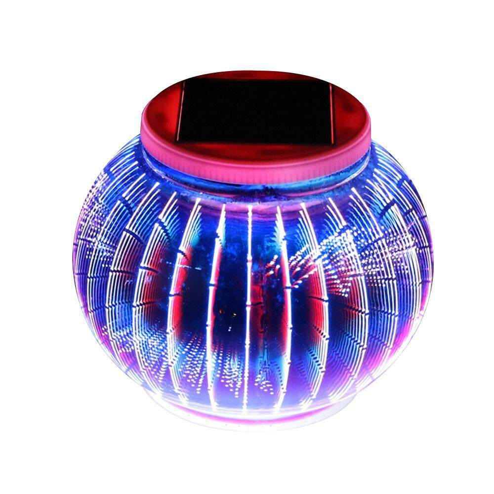 GoodGreat Color Changing Mosaic Solar Light, Waterproof/ Weatherproof Crystal Glass Globe Ball Light For For Garden, Patio, Party, Yard, Outdoor/ Indoor Decorations - intl