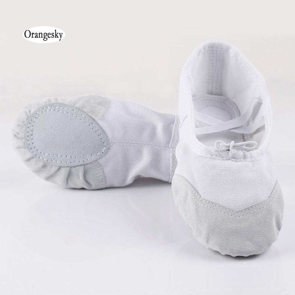 Orangesky Người Lớn Trẻ Em Vải Váy Múa Giày Pointe Vũ Tập Yoga Thể Dục Dụng Cụ Giày Giảm Duy Nhất Hôm Nay