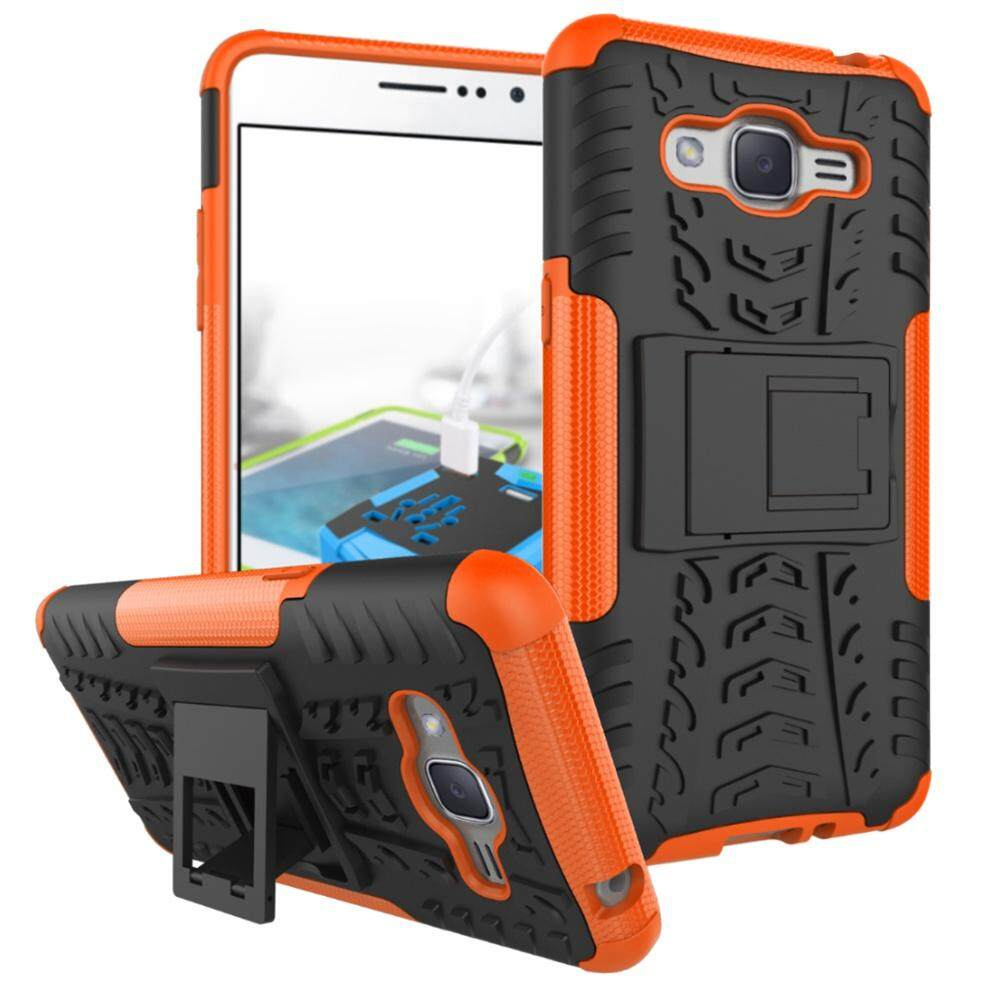 UPaitou Armor Case for Samsung Galaxy J2 Prime Tough Rugged TPU + PC Dual Layer Protective