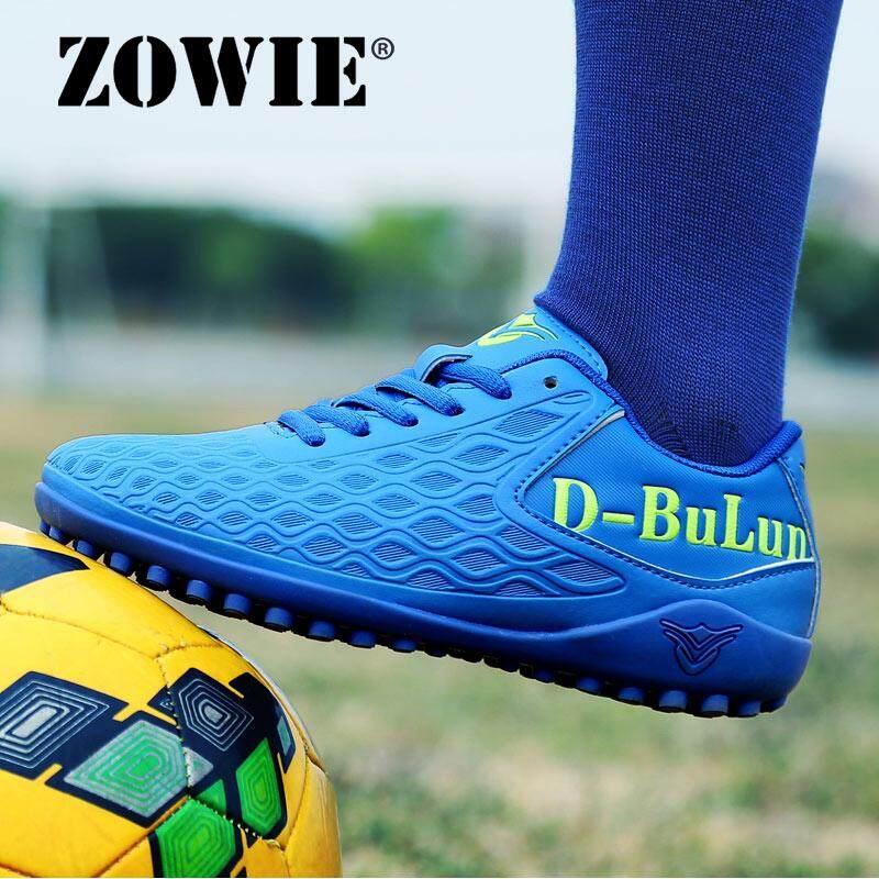 Zowie Ukuran 32-43 Anak Laki-laki dan Perempuan Sepatu Sepak Bola Kuku Patah