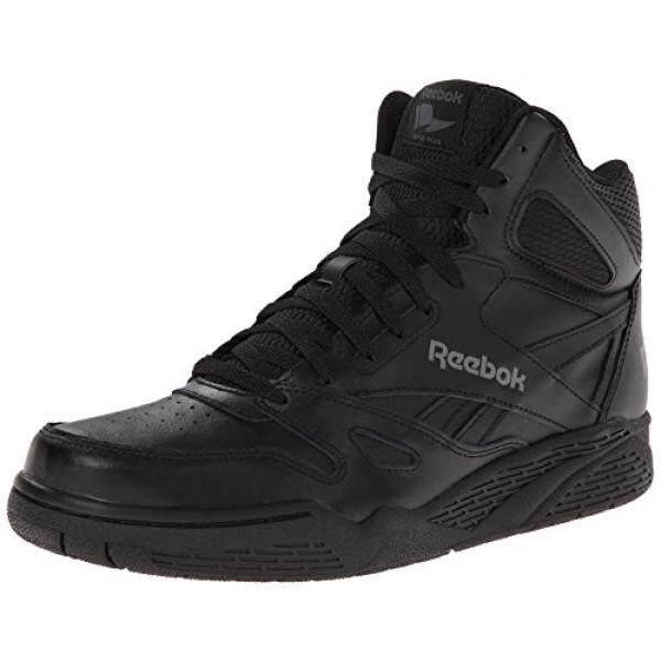Reebok Pria Royal BB4500H XW Sepatu Sneaker Modis, Hitam/Shark 12 4E Kami-Internasional