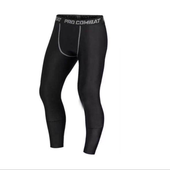 0527908ec4984 Luoke Men Compression Pants Gym Fitness Sports Running Leggings Tights  Quick-drying Fit Training Jogging