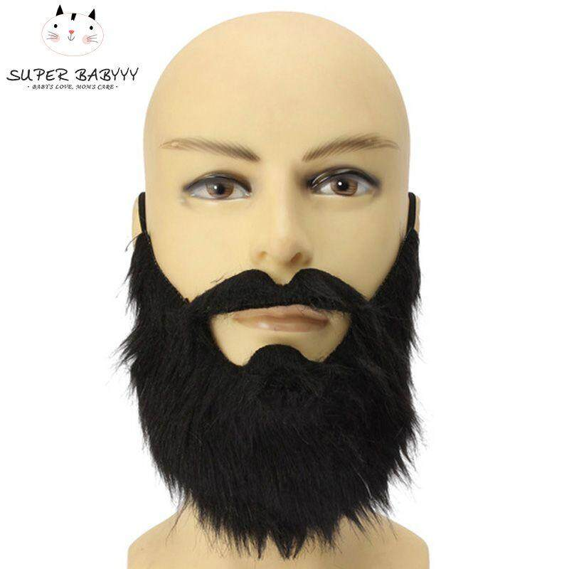 Sby Fancy Dress Fake Beards Halloween Costume Party Moustache Black Halloween For Pirate Dwarf Elf James Harden Cosplay By Super Babyyy.