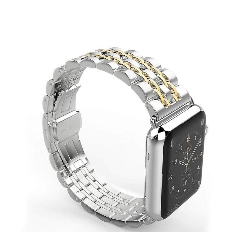Tali Baja Tahan Karat untuk Pita Jam Tangan Apple 42 Mm 38 Mm IWatch Seri 4
