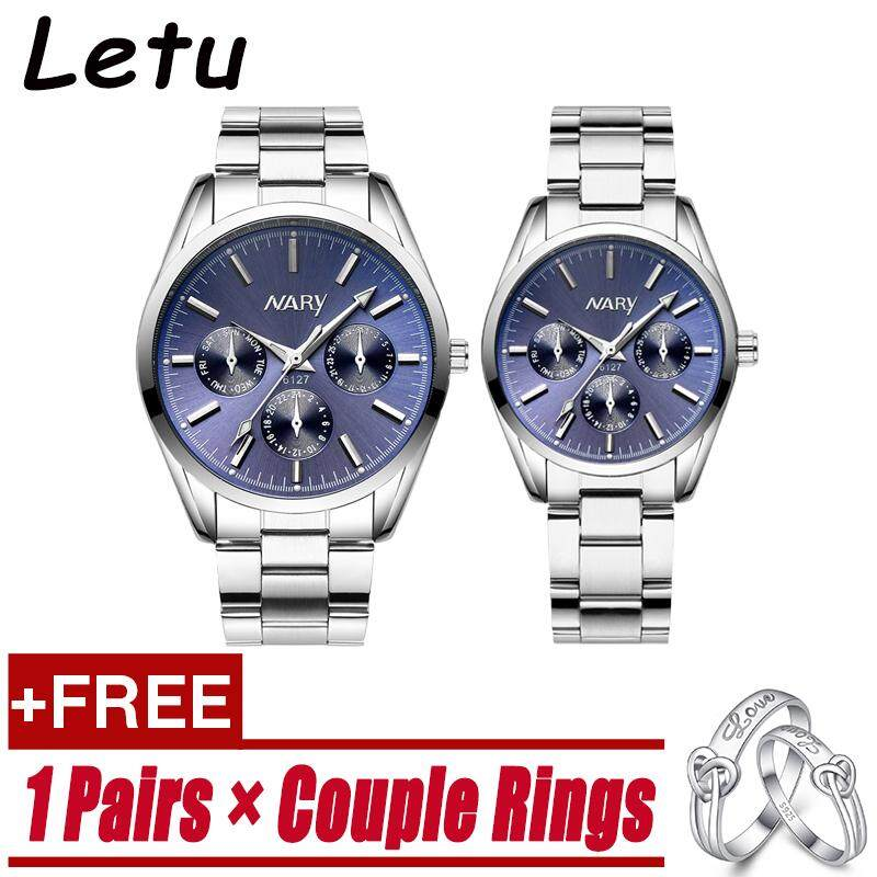 Watches 2019fashion Unique Men Women Quartz Watches Cool Full Stainless Steel Couples Lovers Watch Ladies Dress Wristwatch Men Watches C 100% High Quality Materials