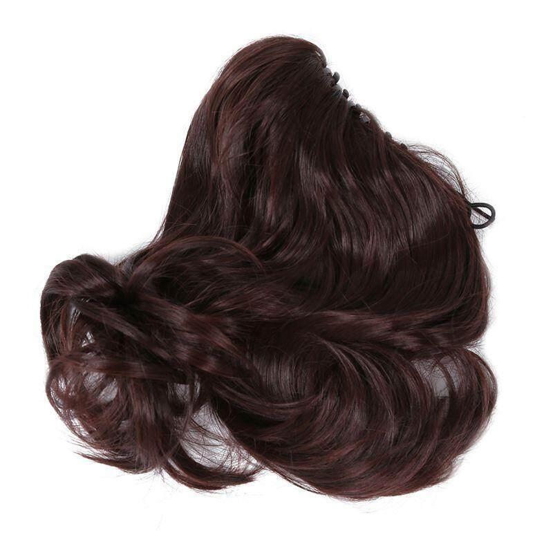Hair Extension Perpanjangan Rambut model klip clip wigs long curly 55 cm 27s. Source ·
