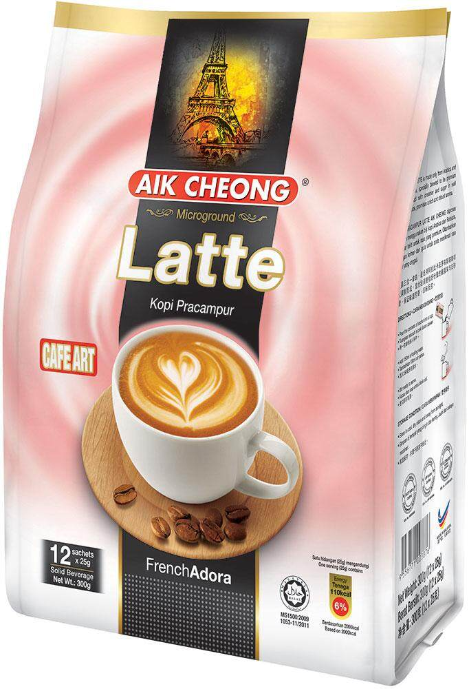 Aik Cheong Cafe Art - Latte