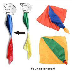 MayLer Store Change Color Silk Scarf For Magic Trick By Mr. Magic Magic Props Randomly