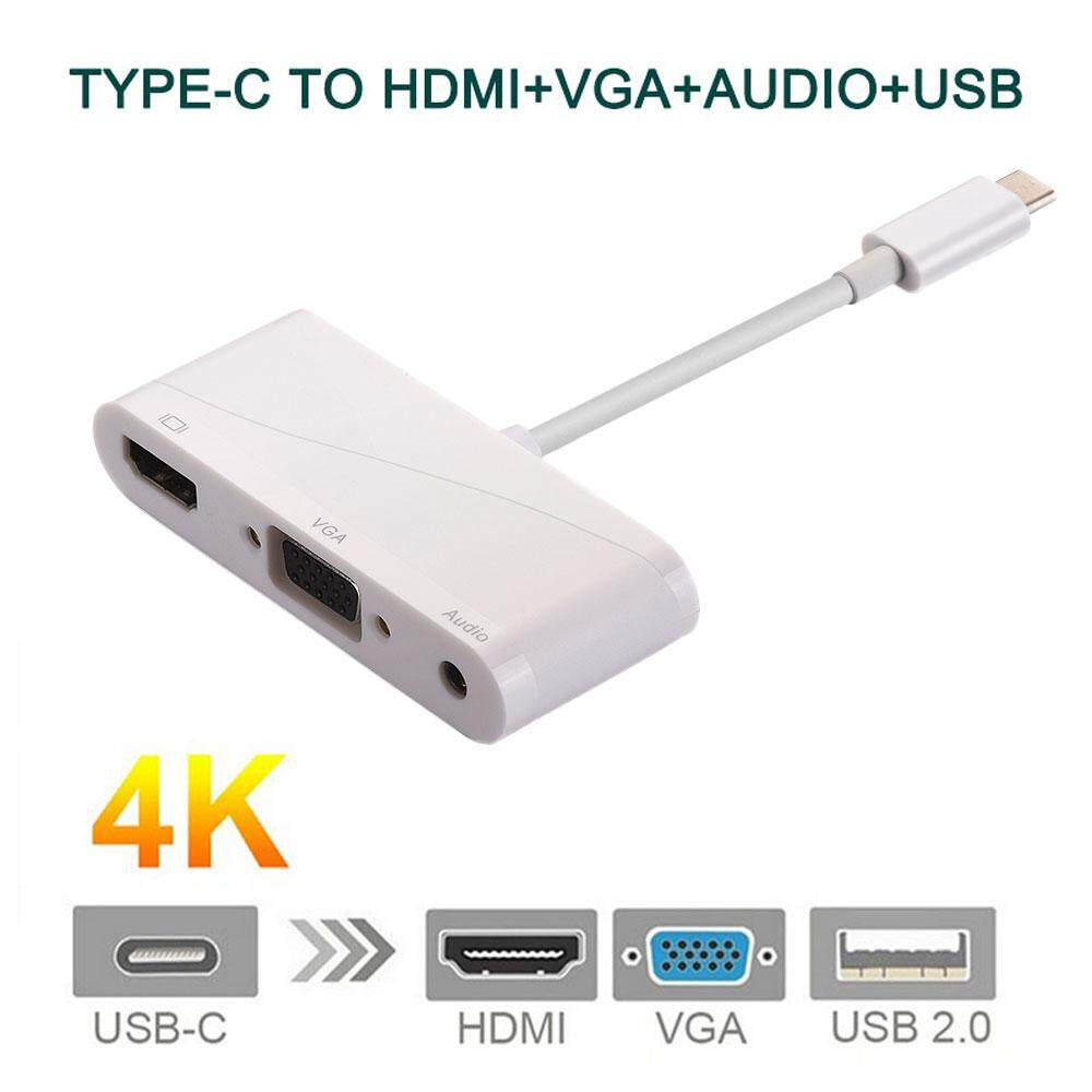 Type C Video Cable For Sale Adapter Prices Brands Hdmi To Vga Wiring Diagram Womdee Usb Audio 31 4k