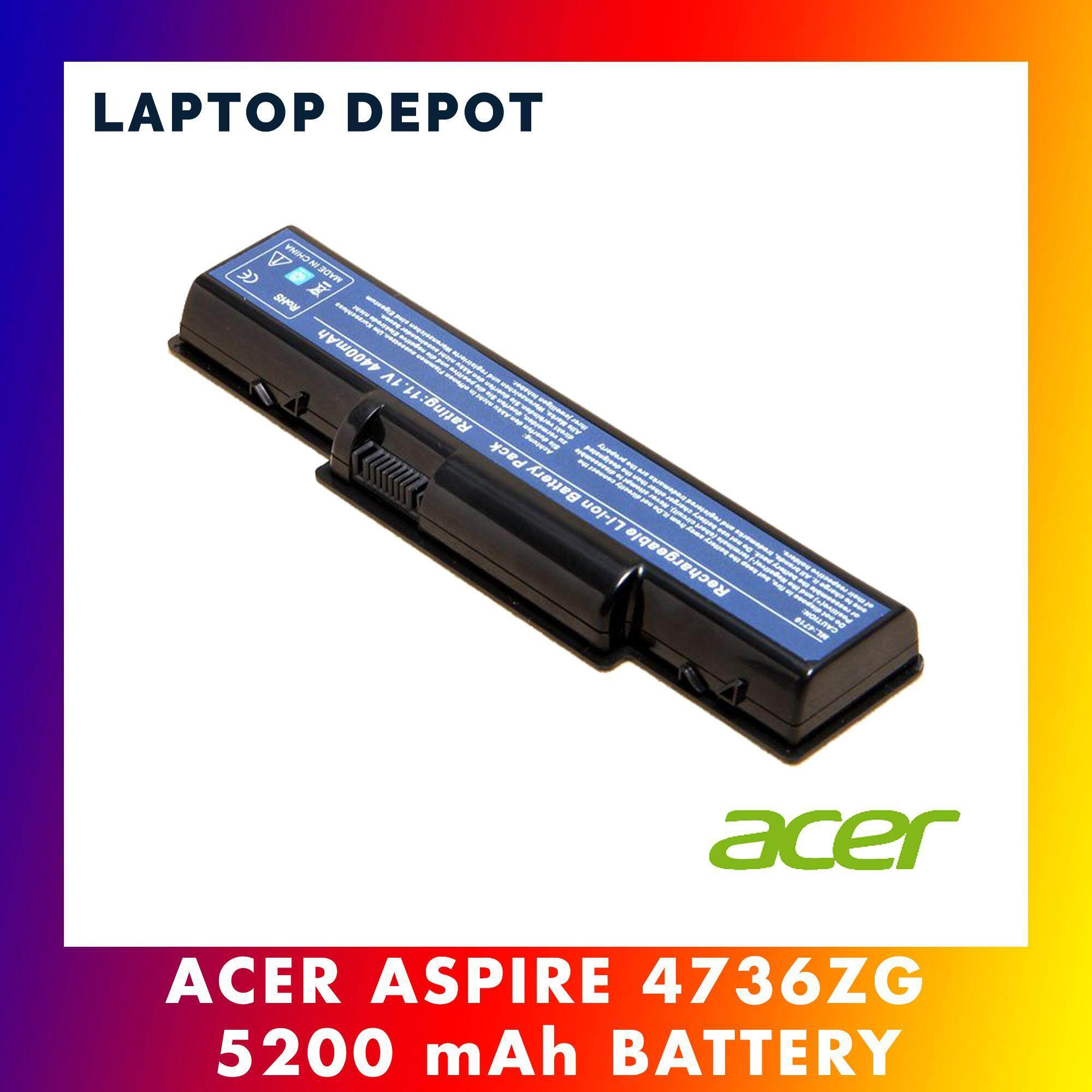 (1 year warranty)Acer Aspire 4710 4730ZG 4736ZG 4735 4735Z 4736 4736G 4736Z battery Malaysia