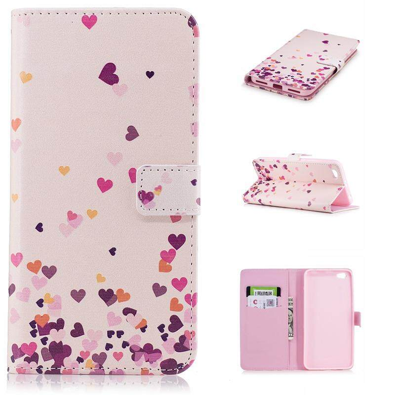 Case for Xiaomi Redmi Note 5A Premium PU Leather Wrist Strap Design Slot Flip Kickstand Protective