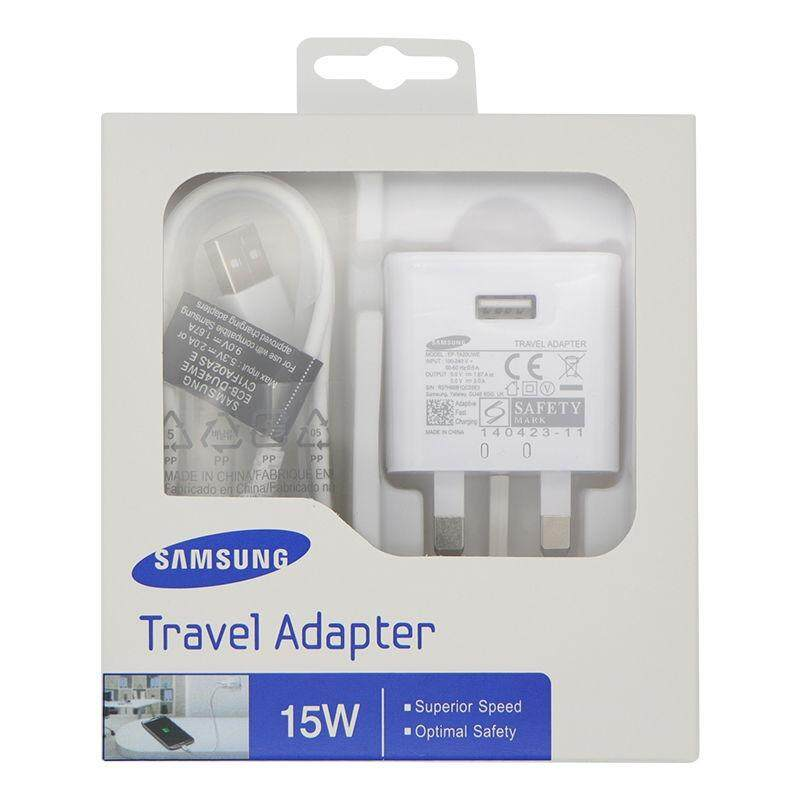 (Genuine Samsung) Travel Adapter 15W Fast Charger Micro USB, Mobile charger