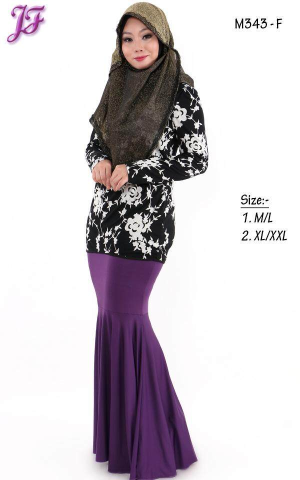 JF Fashion Melinda Printed Lace Blouse M343