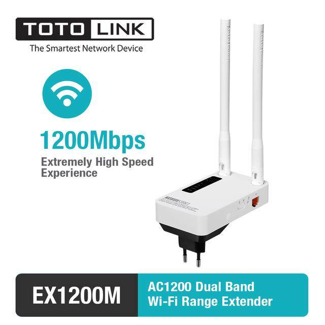 EX1200M - AC1200 Dual Band Wi-Fi Range Extender