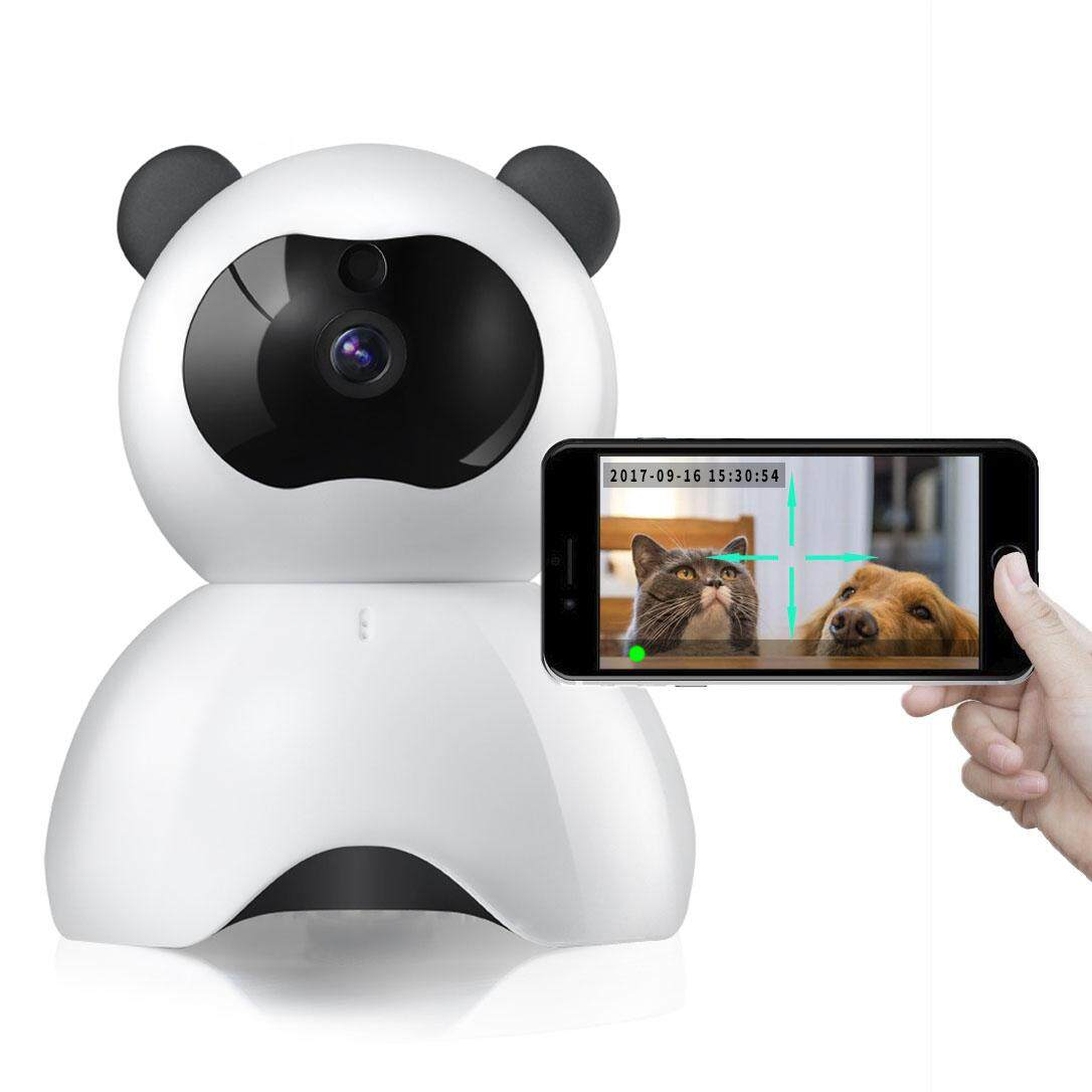 Pet Monitor 720p Hd Wireless Dog Two Way Audio Indoor Home Security Ip Camera