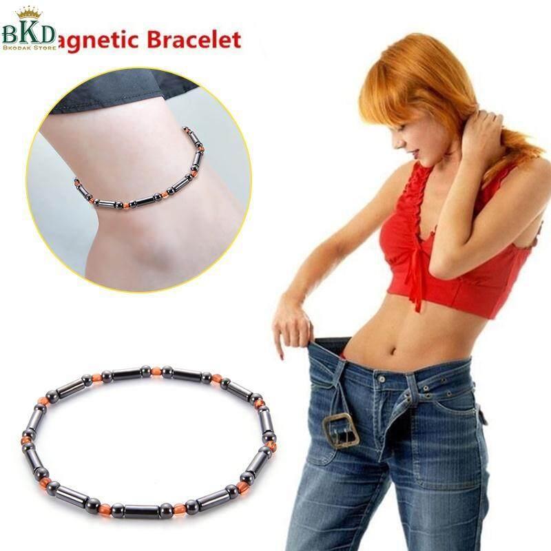 Bokeda Store Black Slimming Foot Chain Magnetic Foot Chain Weight Loss Chain By Bokeda Store.
