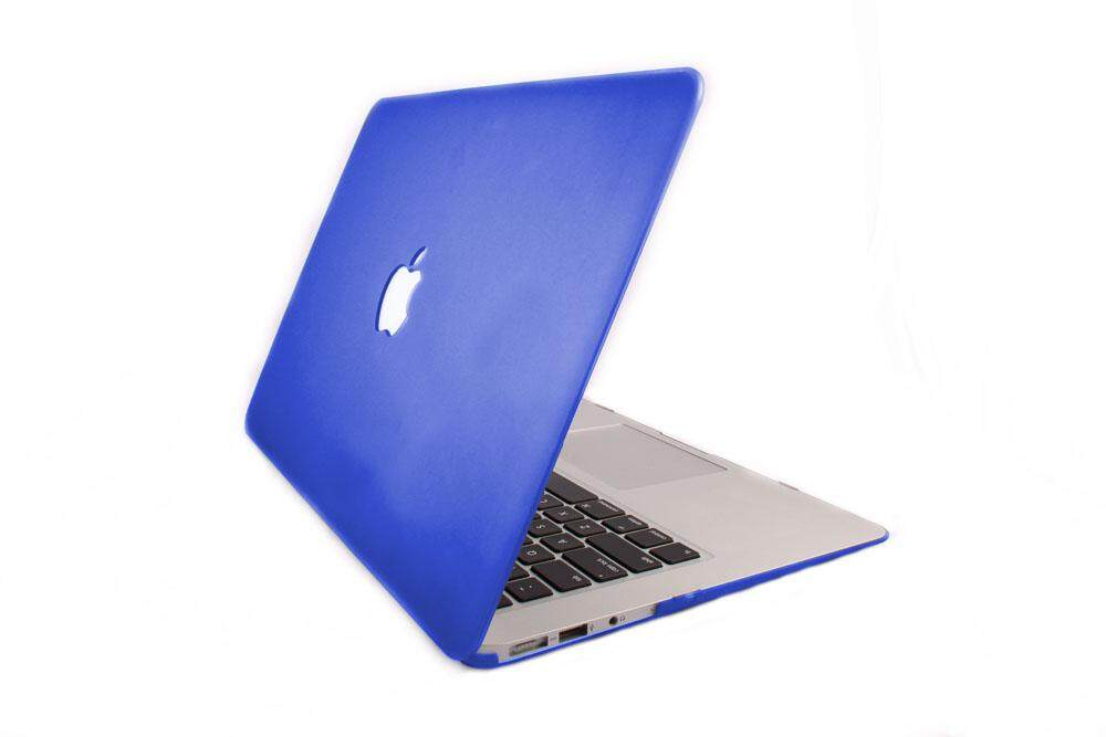 Untuk 11.6 MacBook Air 4in1 Case Cover Keyboard Pelindung Layar Debu Plug Biru-Intl