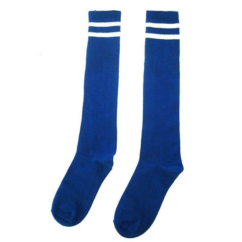f9500afc759 Kids Sport Football Soccer Long Socks Over Knee High Sock (Blue)
