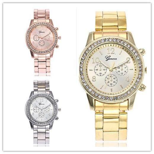 BUNDLE DEAL- Geneva Chronograph Elegant Women s Watch 3 Pcs Set a1654945ef09