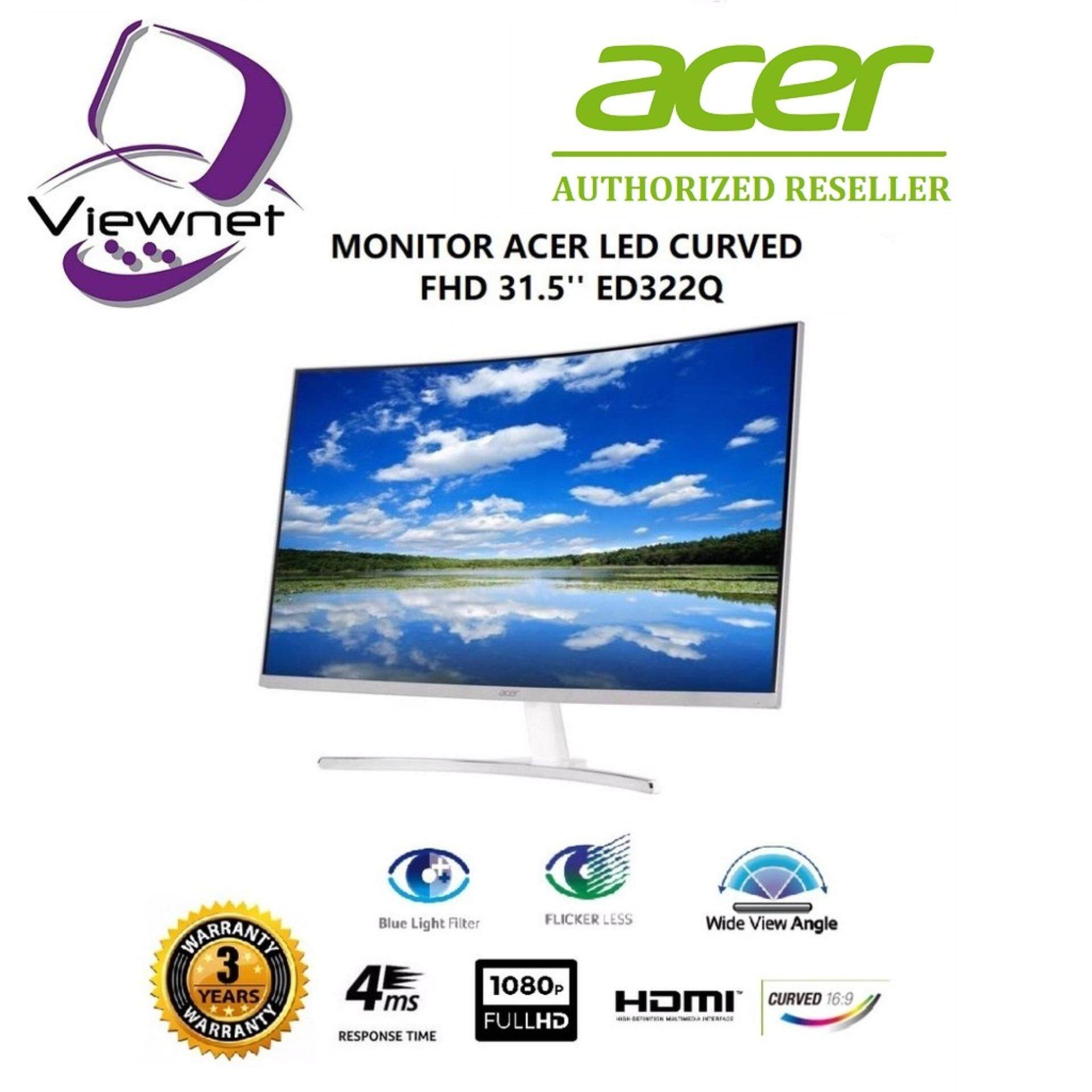 Review Acer Gaming Monitor 236 Curved Ed242qr Abidpx Asus Vp247qg Full Hd Tn 1ms 75hz Freesync Speaker Myr 828