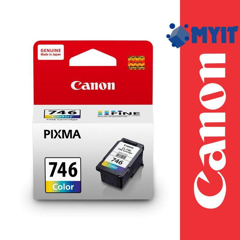 Canon Original CL-746 Color Ink Cartridge for iP2870 iP2870S iP2872 MG2470 MG2570 MG2570S MG2577S MG2970 MG3070 MG3070S MG3077 MG3077S MX497 CL746