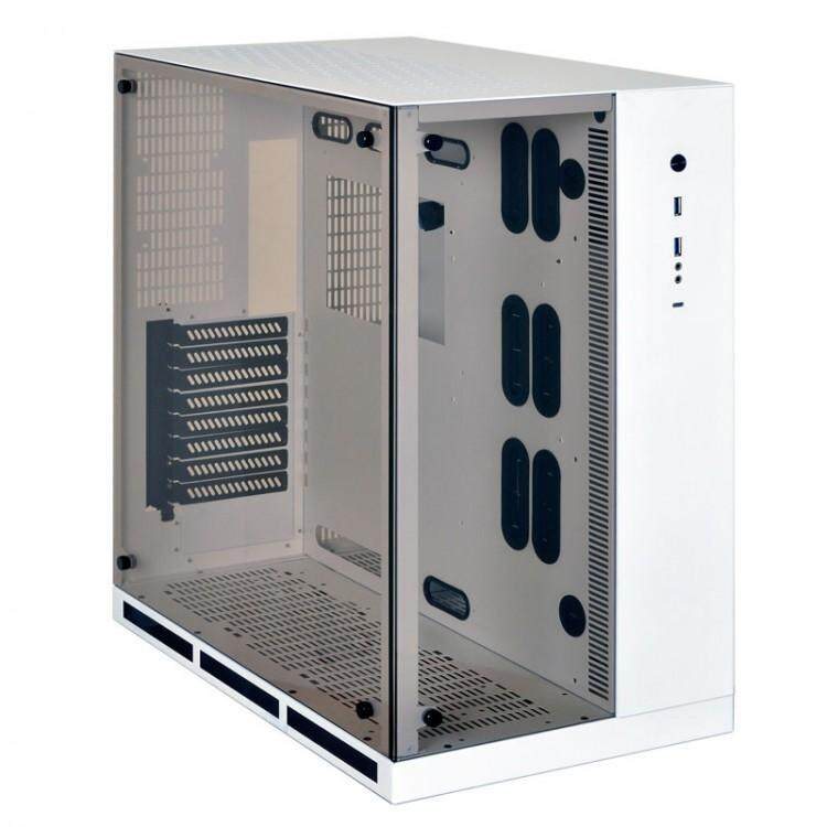 LIAN LI PC-O11WX TEMPERED GLASS E-ATX CASING WHITE Malaysia