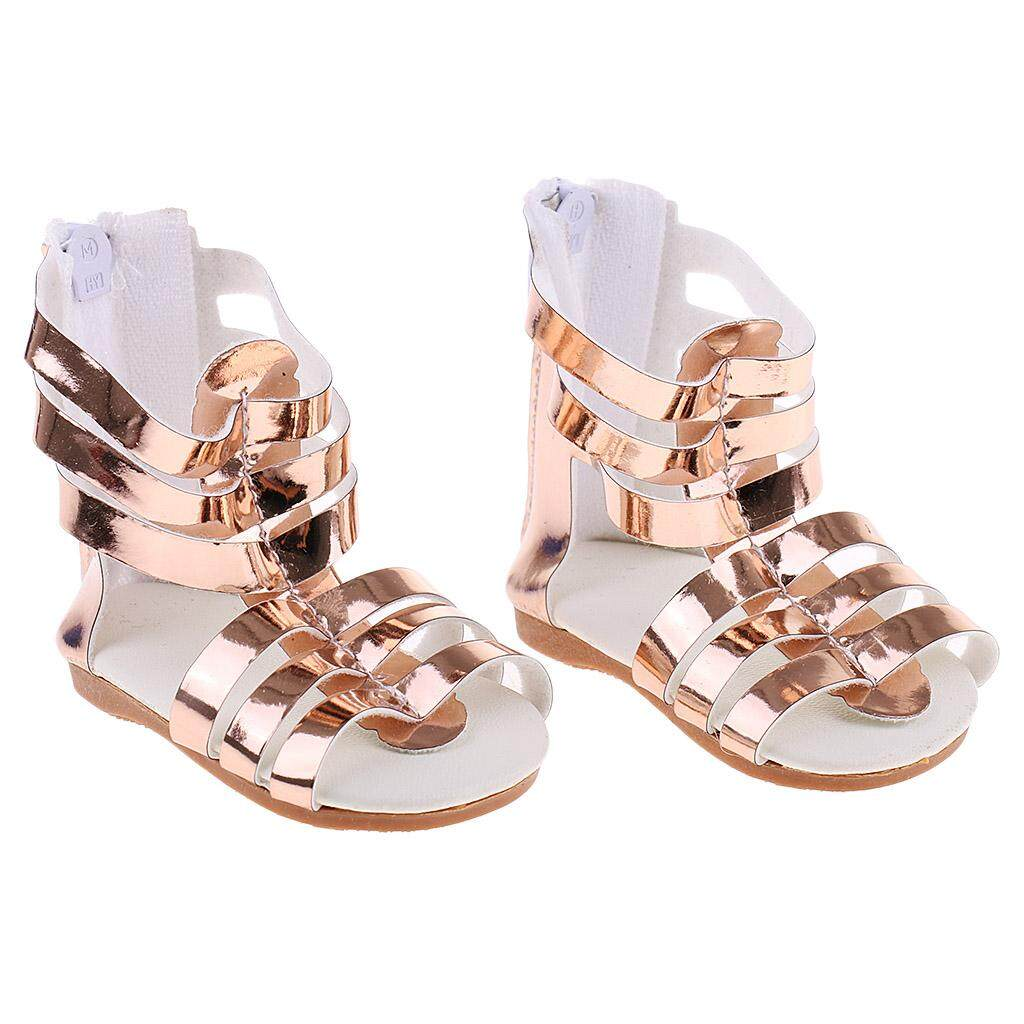 Bolehdeals Pair Of Dolls Sandals Shoes For 18 American Girl Doll Clothes Outfits Clothing Dress Shoes Acces - Golden Kids Birthday Gifts By Bolehdeals.