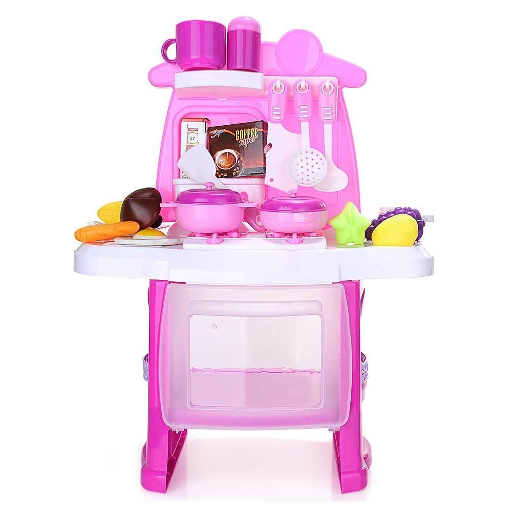 ranxian Luxury Simulation Kitchen Cooking Tools Kit for Kids