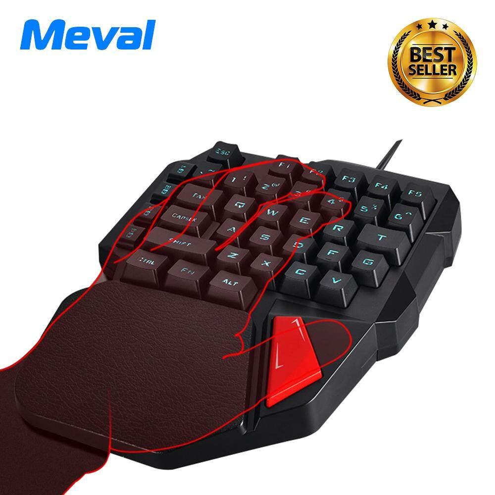 Buy Sell Cheapest Nice K108 Mini Best Quality Product Deals Keyboard Usb Meval Gaming Wired 38 Keys One Single Hand Mechanical Feel