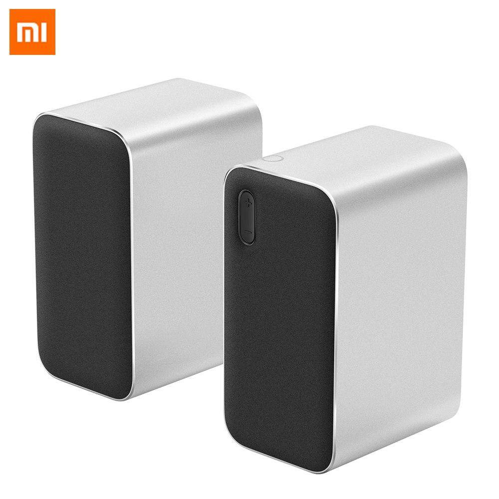 สอนใช้งาน  สุโขทัย Original Xiaomi Bluetooth Computer Speaker 12W 2.4GHz Double Bass Basin Stereo Portable Aux DSP With Microphone LED Indicator