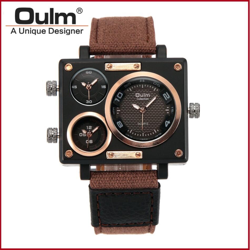 Oulm 3595 Men Quartz Watch--01