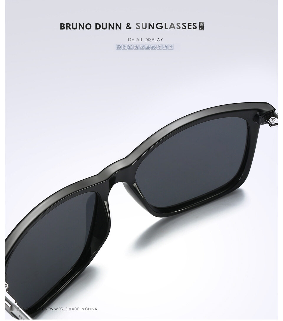 728bd3464c Specifications of Bruno Dunn Brand 2018 New Fashion Titanium vintage  Polarized Sunglasses unisex Man women Large Frame Brand Designer Retro Sun  Glasses Male ...
