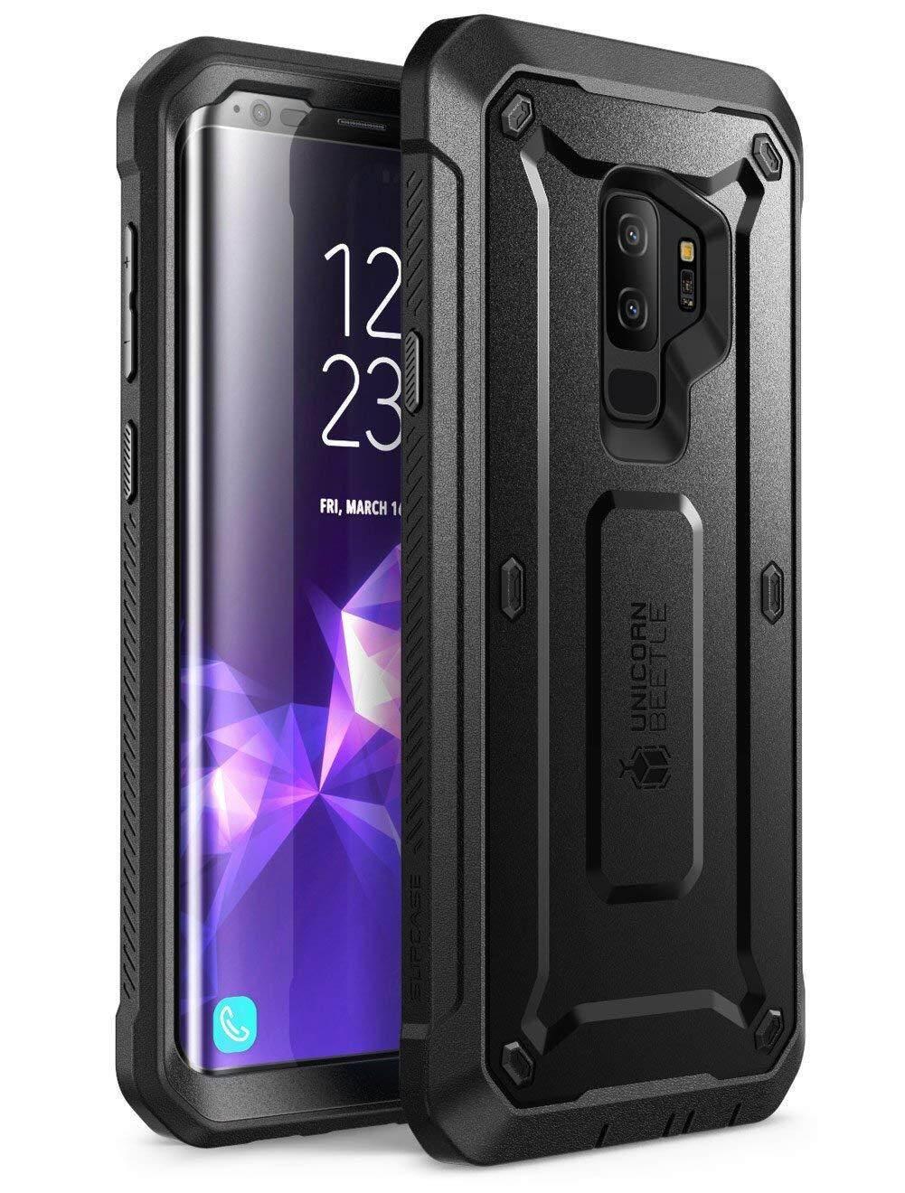 Untuk Samsung Galaxy S9 + PLUS Case Sup Case Guncangan Kasar Case Cover  dengan Pelindung Layar 84ce43298b