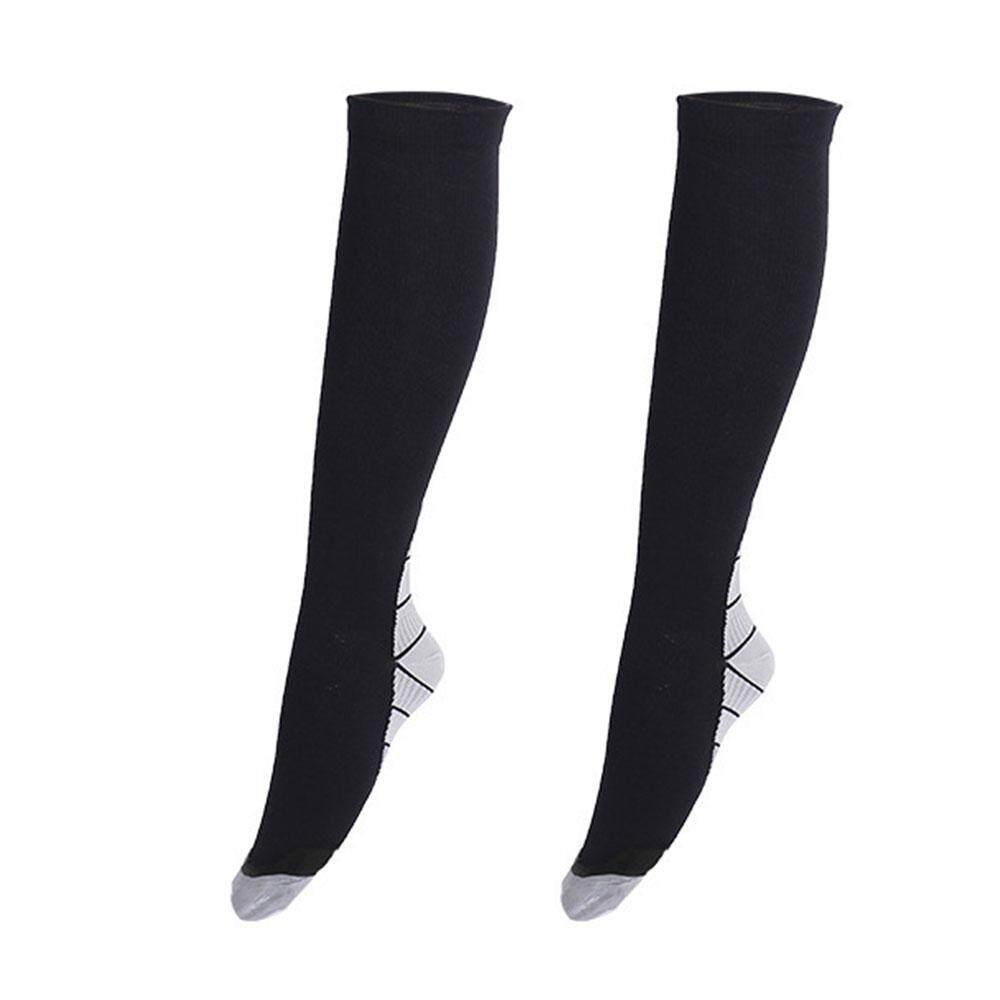 Acelit Leg Shin Socks Running Stretch Movement Compression Varicose Veins Calf Stocking