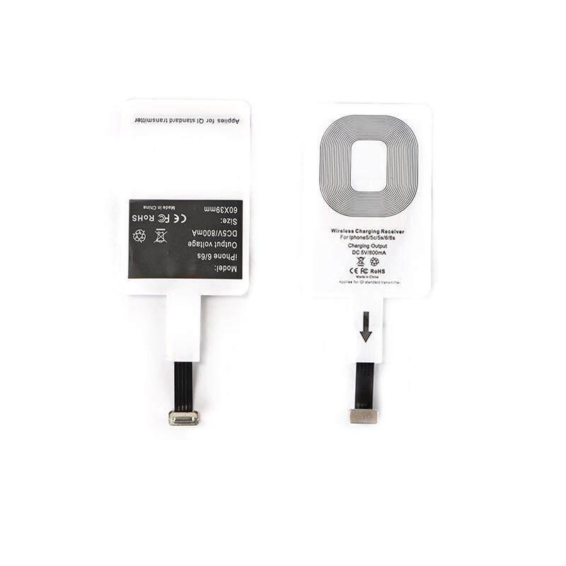 Ringan Pengisian Nirkabel Penerima untuk Android iPhone TYPE-C Receiver Induksi Chip