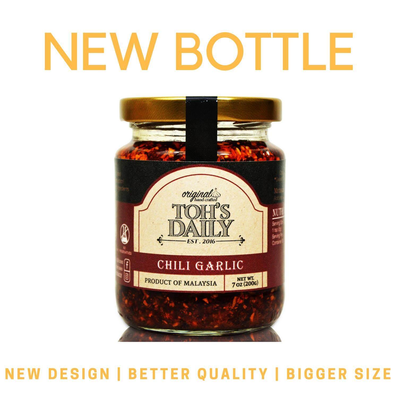 Ramadan Special Promo - TOH'S DAILY Chili Garlic, 200g - 6 Bottles